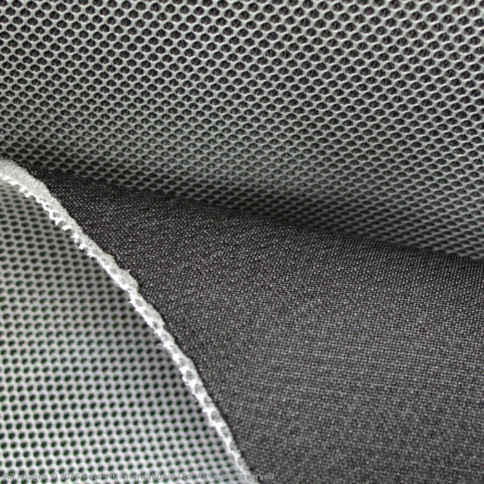 INKA Mesh Fabric 3D Spacer 6MM 150CM Campervan Cushioning Padding BLK/WHITE
