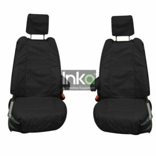 Land Rover Range Rover Vogue L322 Fully Tailored Waterproof Front Seat Covers 2007 - 2012 Heavy Duty Right & Left Hand Drive Black