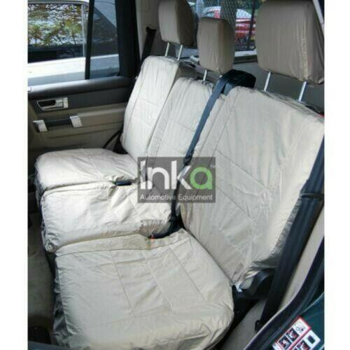 Land Rover Discovery 4 Fully Tailored Waterproof Front 2005-2010 Heavy Duty Right Hand Drive Beige