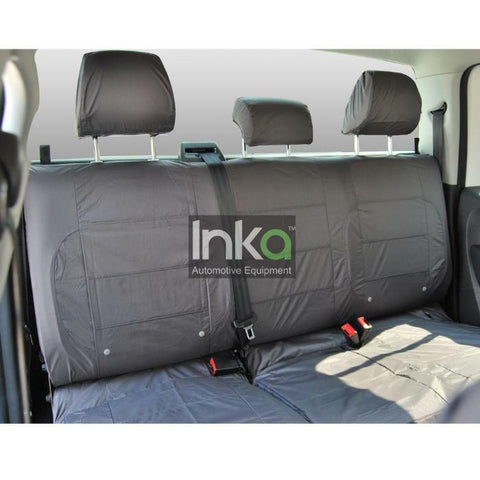 Skoda Yeti 2nd Row Tailored Waterproof Seat Covers 1+1+1 MY2009 Onwards - RHD in GREY