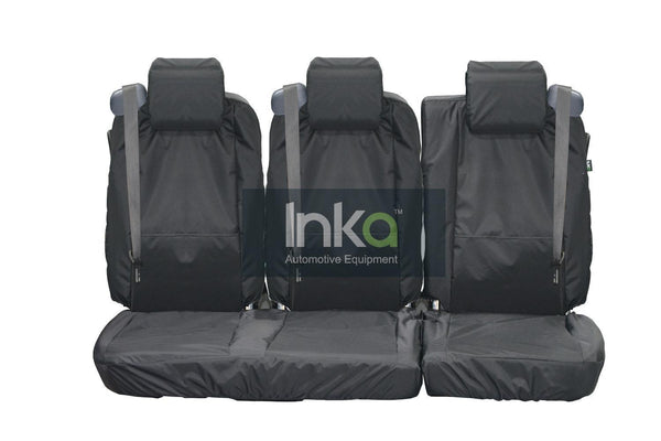 INKA Waterproof Ford Transit Connect Tourneo Rear 1+2 Seat Covers MY 2002 - 2013