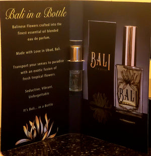 Bali in a Bottle ~ Perfume ~ Sample