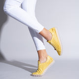 FLOR Zapatilla Extra Flexible AMARILLO