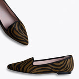 SLIPPER ZEBRA – Slipper Animal Print CUERO ZEBRA