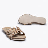 FASHION- Chancla BIO LEOPARDO BEIGE