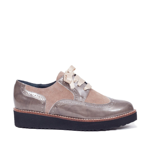 Blucher Star Taupe