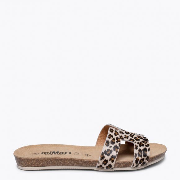 FASHION- Chancla BIO LEOPARDO