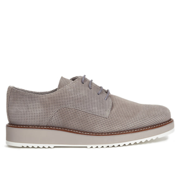 Zapato Blucher mujer INSTA Gris