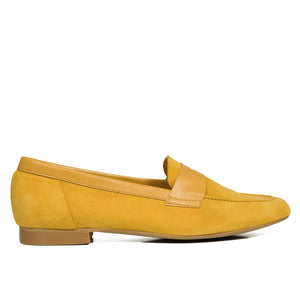 ANTIFAZ Slipper de piel AMARILLO - miMaO ShopOnline
