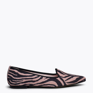 SLIPPER ZEBRA – Slipper Animal Print ROSA ZEBRA