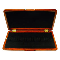 Burnt Amber Wooden Oboe Reed Case (20 Reeds)