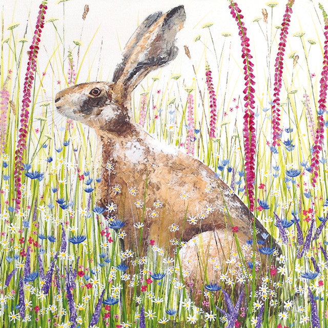 The Story Behind Sarah Pye's 'Sunshine Hare'