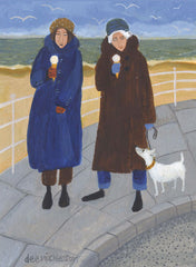 Never Too Cold For Ice Cream, Art Card by Dee Nickerson