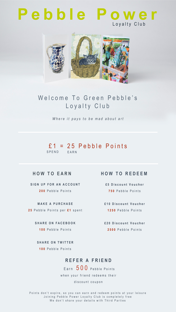 Green Pebble's Loyalty Club