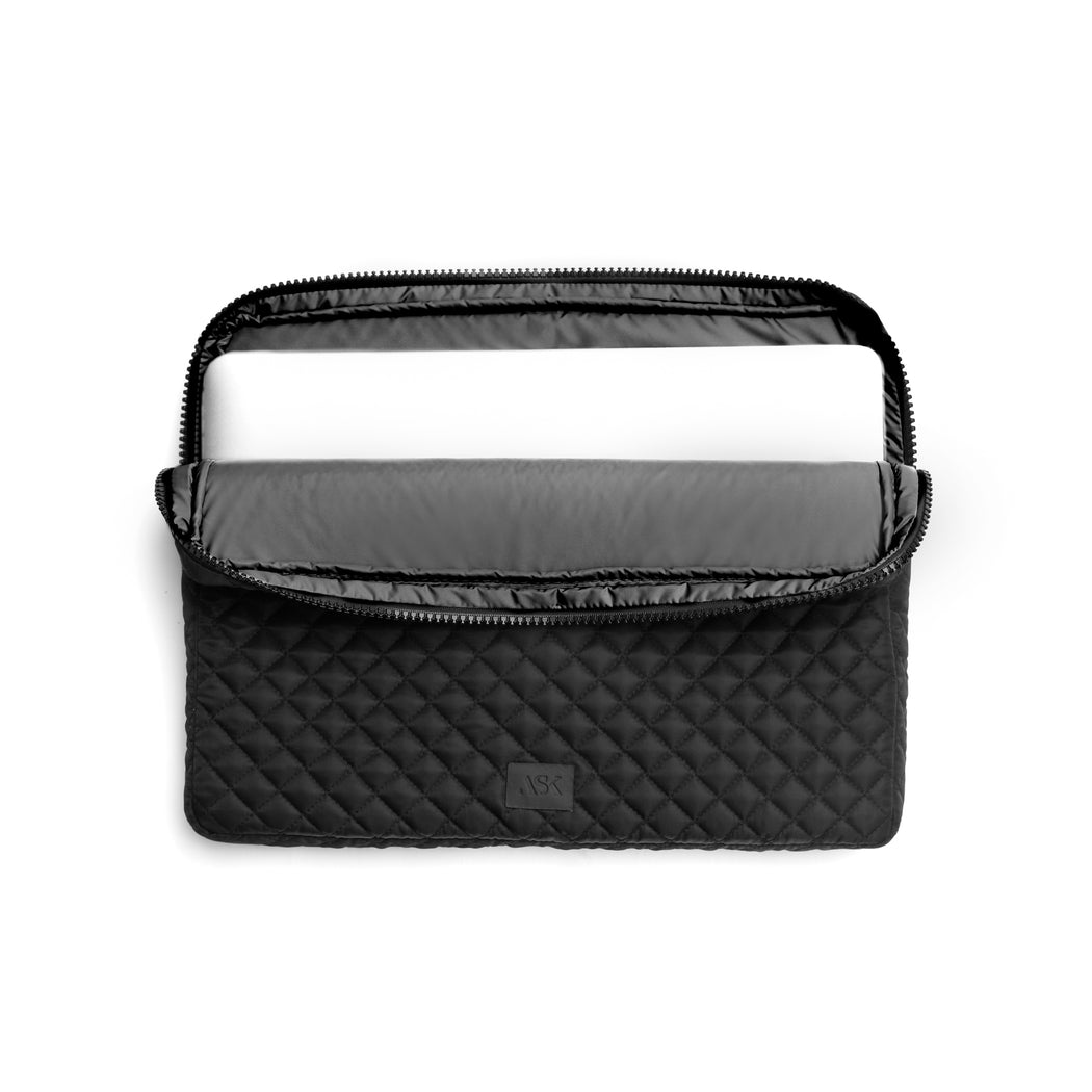 CHARLIE LAPTOP CASE / Black