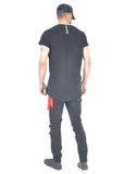 Long T-Shirt - Black - Ensuave
