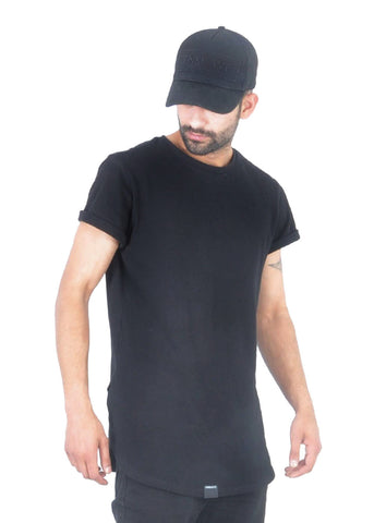 Long T-Shirt - Black