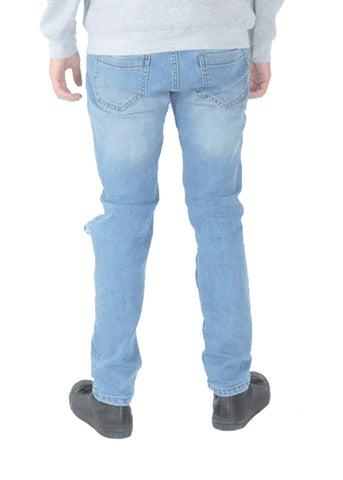 Jeans - Blue distressed