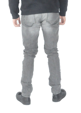 Jeans - Grey distressed