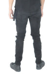 Jeans - Black distressed - Ensuave