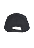 Black snapback, black logo with black border - Ensuave