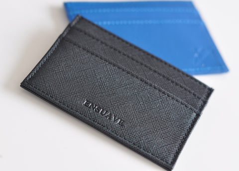 Saffiano Cross Leather Cardholder
