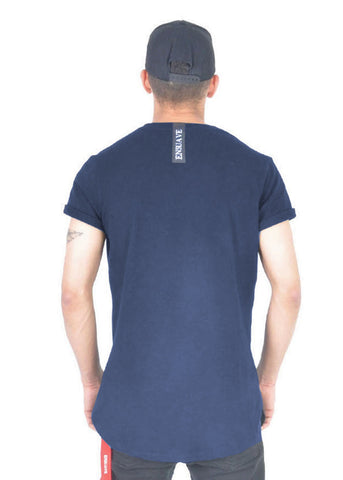 Long T-Shirt - Navy