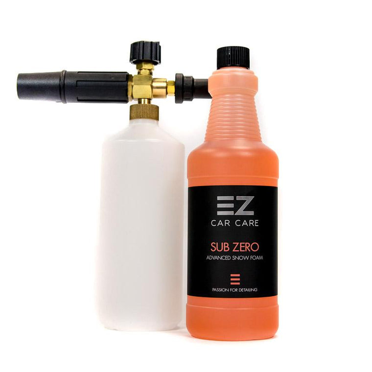 EZ Car Care - Snow Foam Lance & 1 Litre Sub Zero Snow Foam