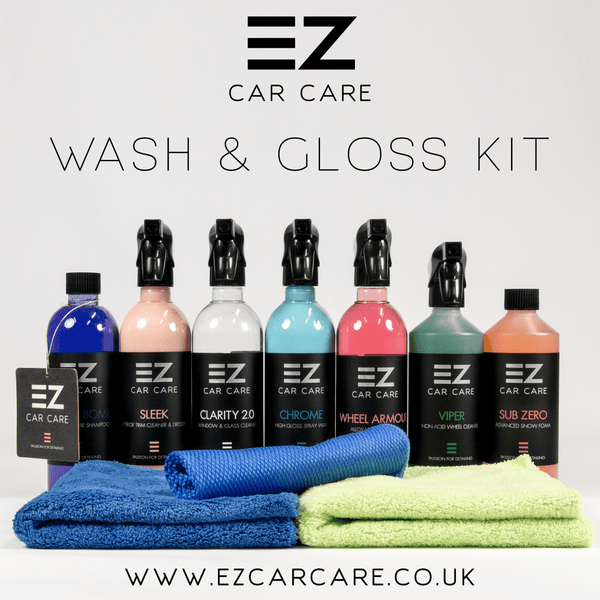 Wash & Gloss Detailing Starter Kit