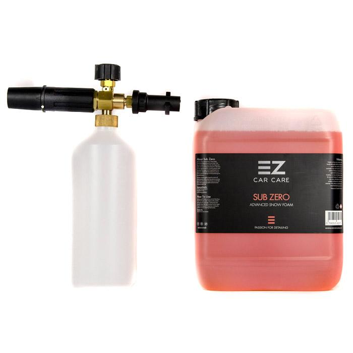 EZ Car Care - Snow Foam Lance & 5 Litre Sub Zero Snow Foam