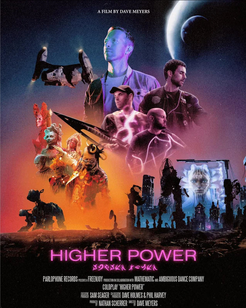 Coldplay Higher Power Jivomir Domoustchiev