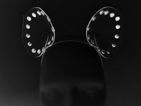 Jivomir Domoustchiev Studded Mouse ear Headband halloween dress up kink