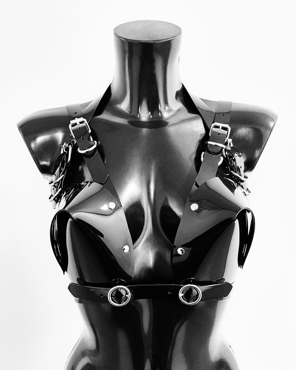 The all new Jivomir Domoustchiev X Sculpture Bra added to the line up of everyones favourites vegan vinyl sculpture bra.