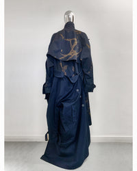 Jivomir Domoustchiev hand crafted re purposed sculpture trench coat