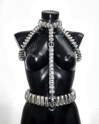 Jivomir Domoustchiev CrAzY multi ring Harness ❤️