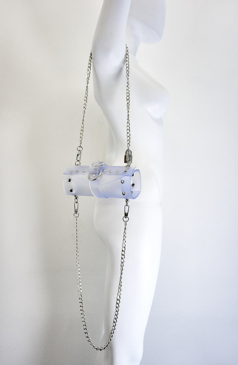 products/Jivomir_Domoustchiev_nearly_clear_frosted_vinyl_studded_bag.jpg