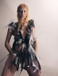 Jivomir Domoustchiev Vinyl sculpture Art dress