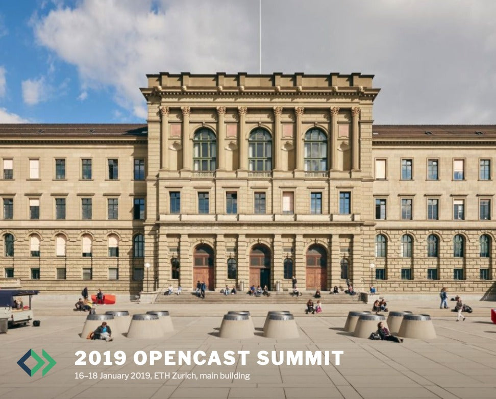 AREC at 2019 OpenCast Summit, Zurich
