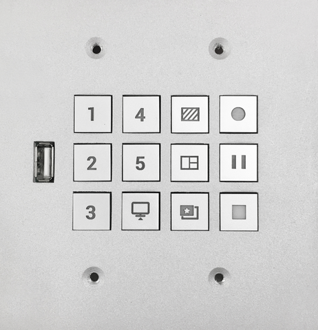 12-Key Control Panel for KL and LS series