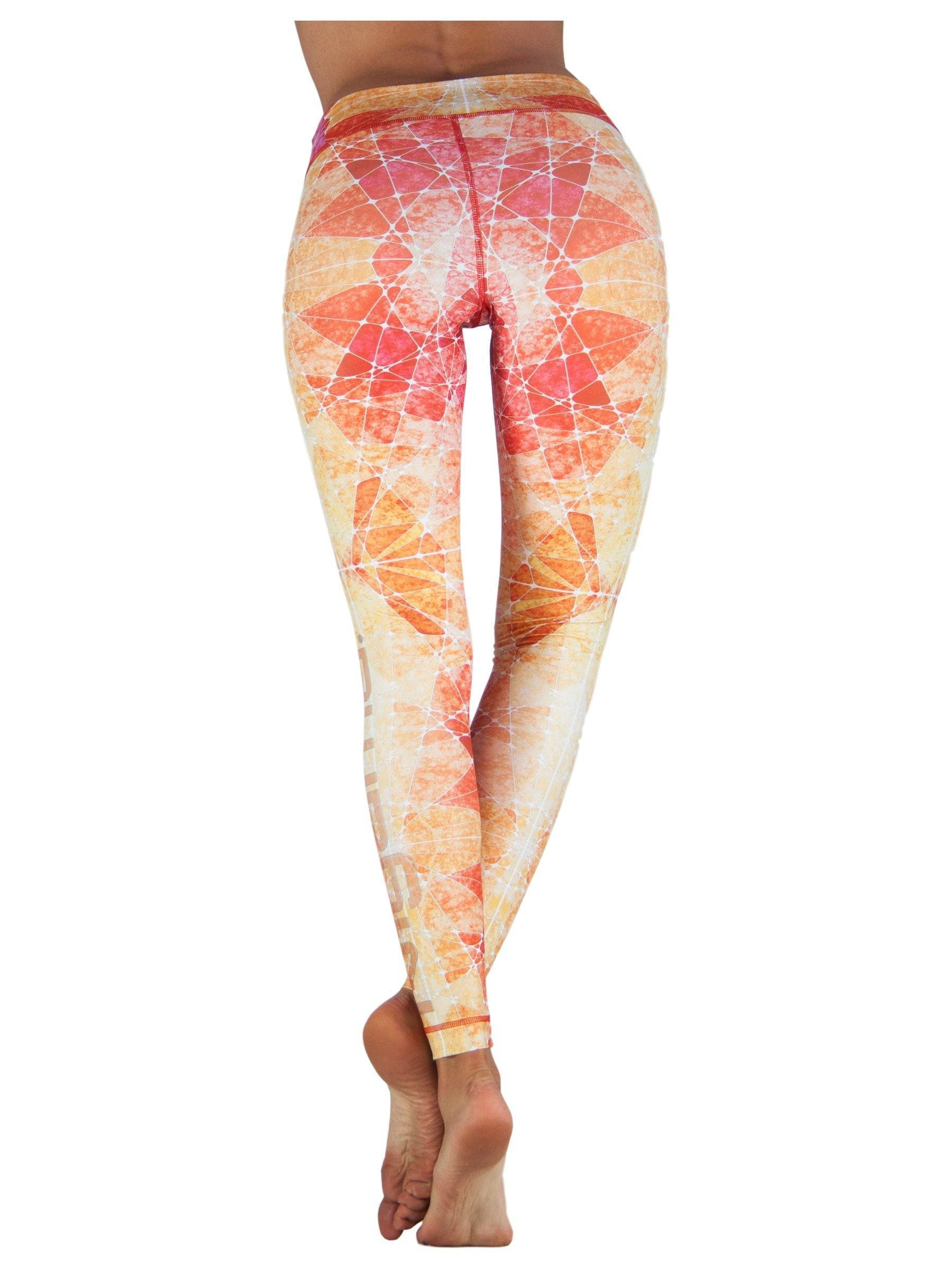 Sunset by Niyama - High Quality, , Yoga Legging for Movement Artists.