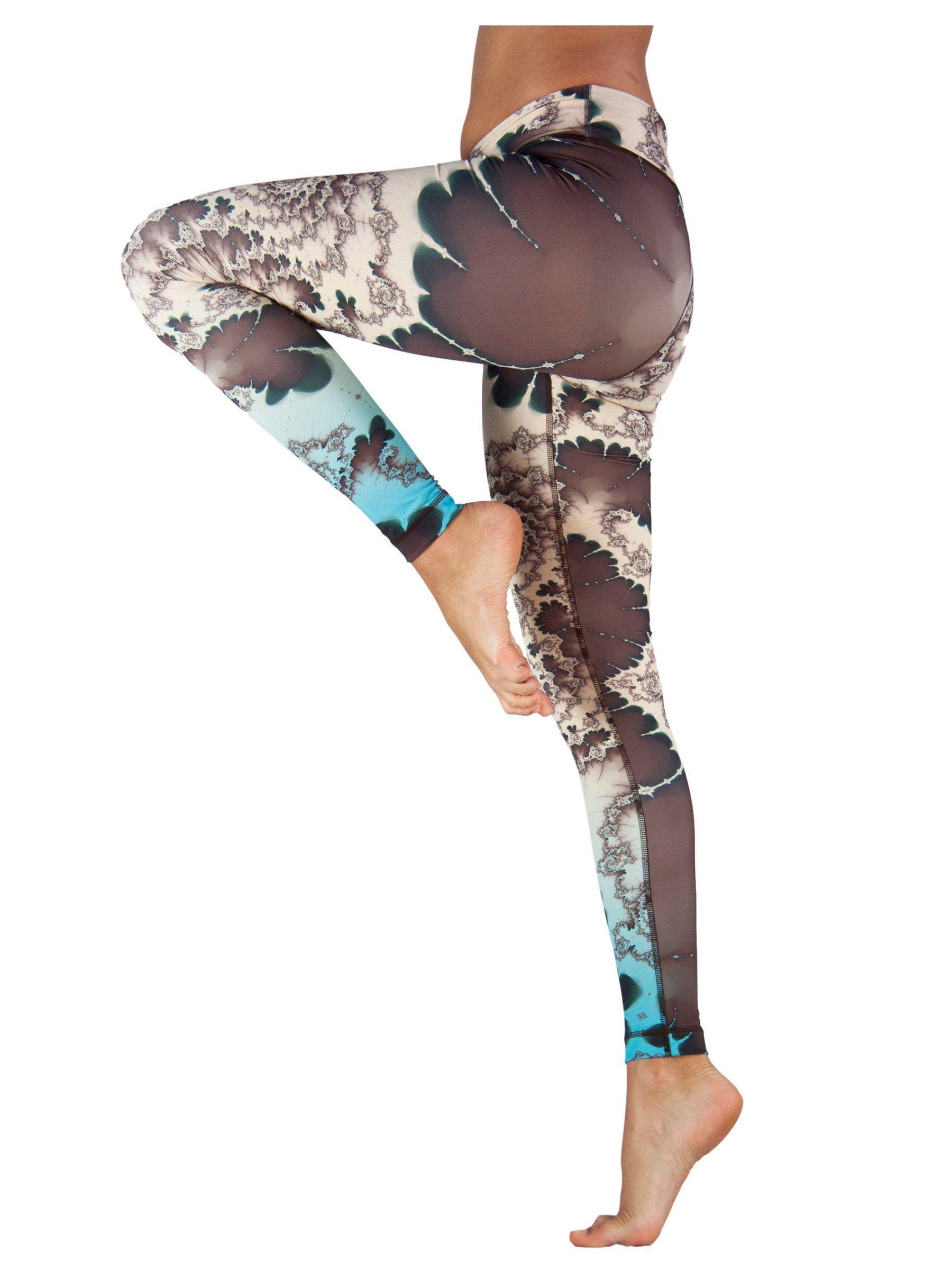 Emerald Spring by Niyama - High Quality, , Yoga Legging for Movement Artists.