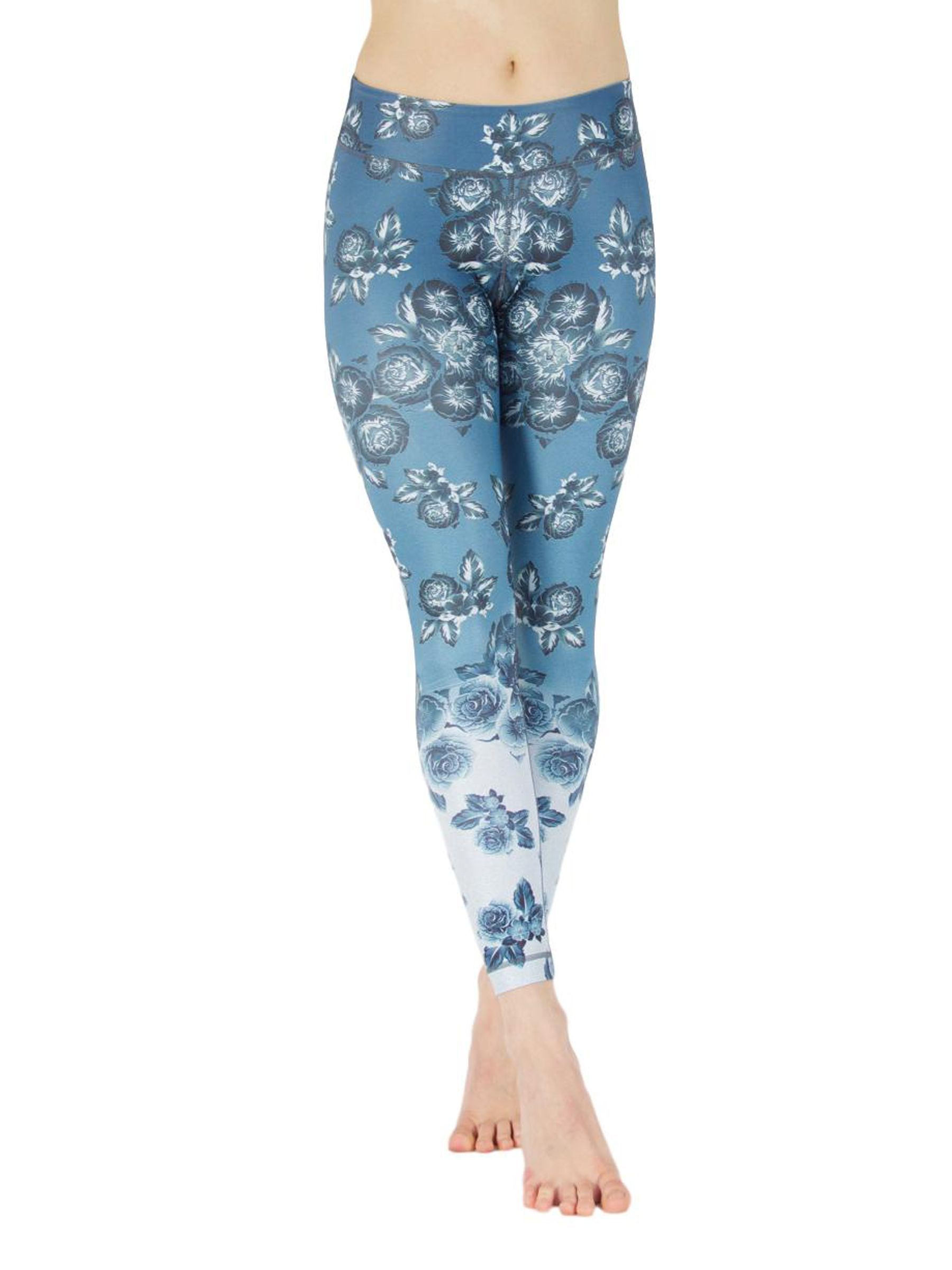 Lilly of the Valley Leggings - Yoga Pants For the Free Spirited.