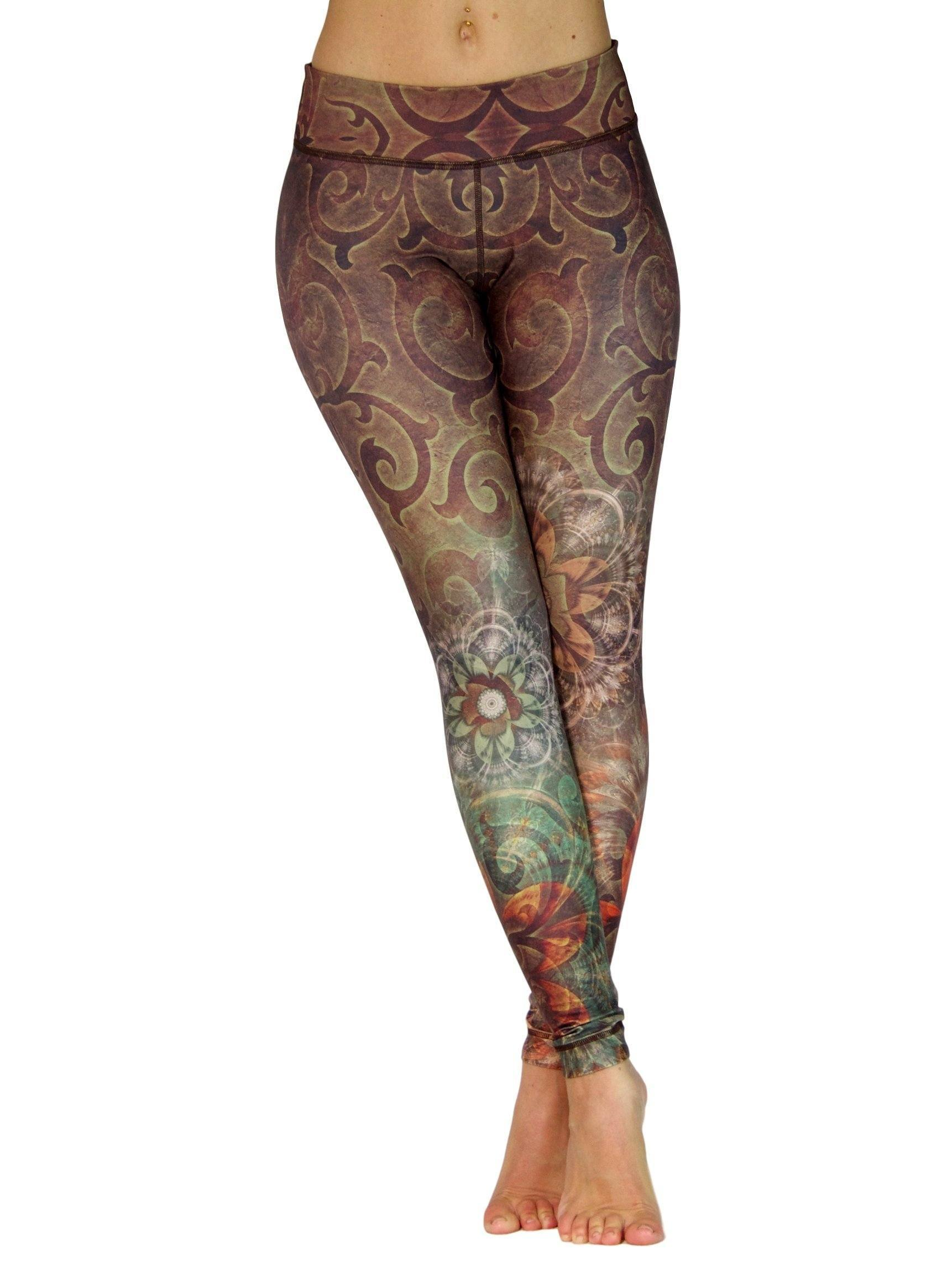 Mountain Meadow by Niyama - High Quality, , Yoga Legging for Movement Artists.