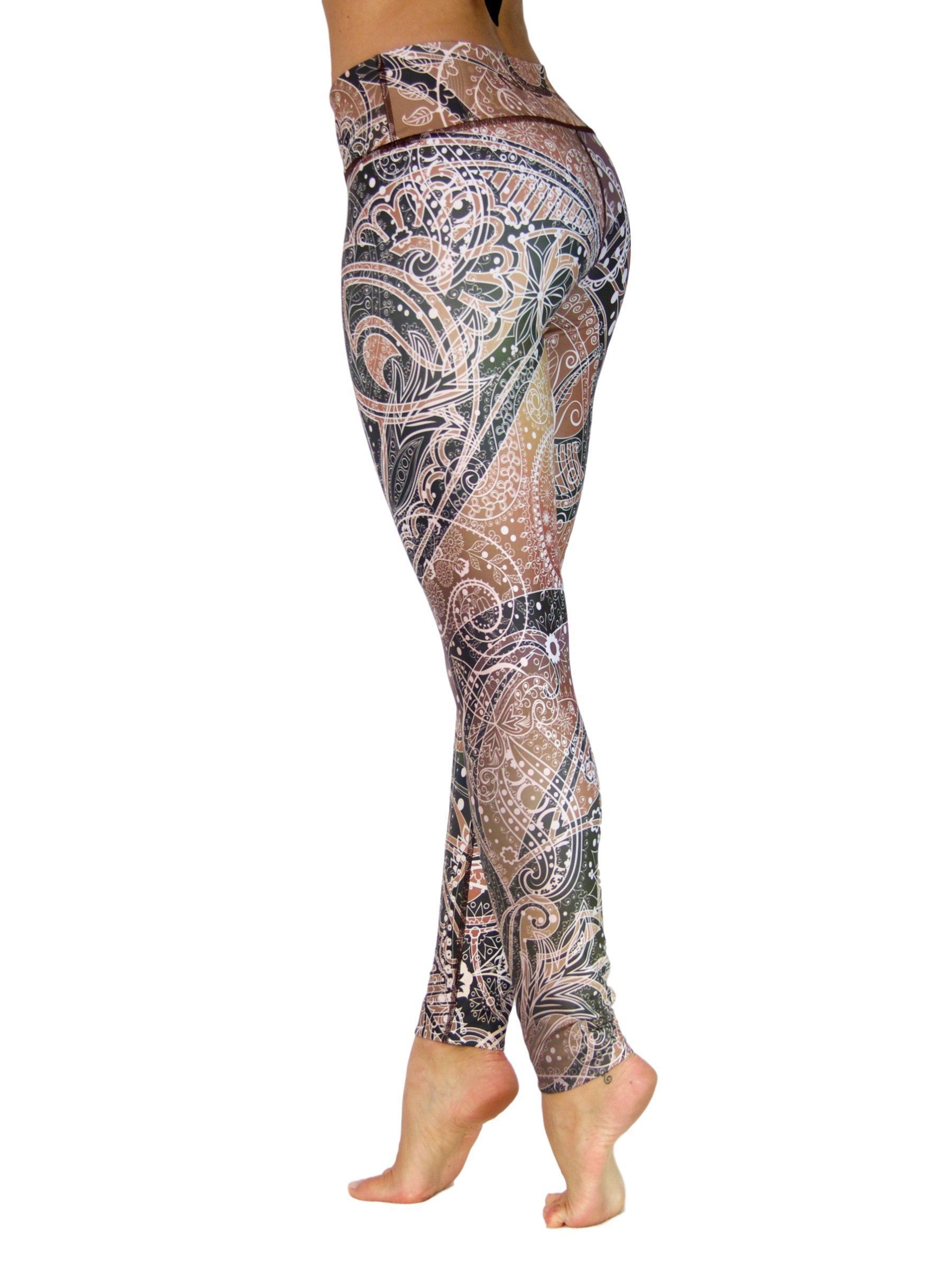 Funky Fall by Niyama - High Quality, , Yoga Legging for Movement Artists.
