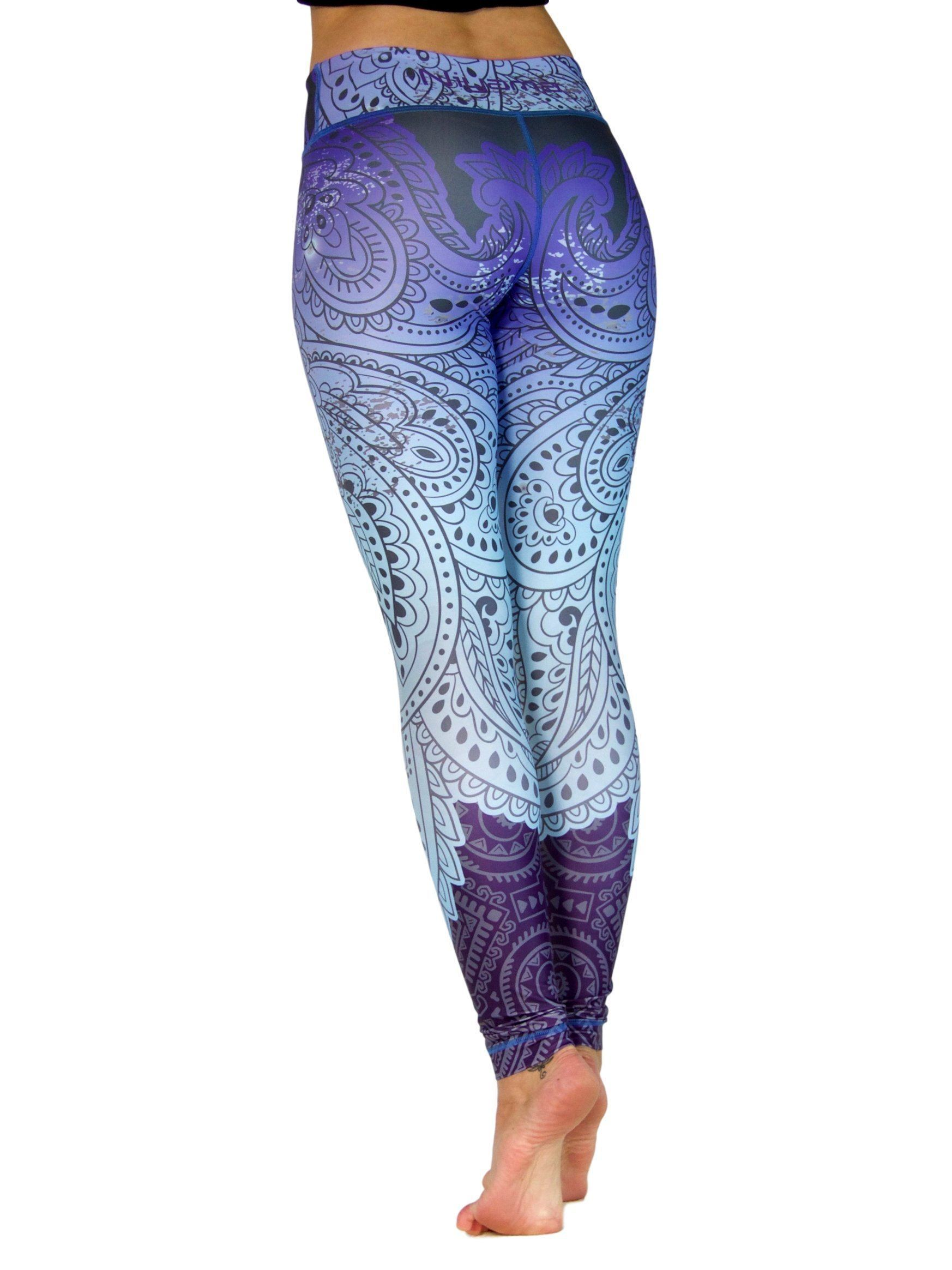 Morning Glory by Niyama - High Quality, , Yoga Legging for Movement Artists.