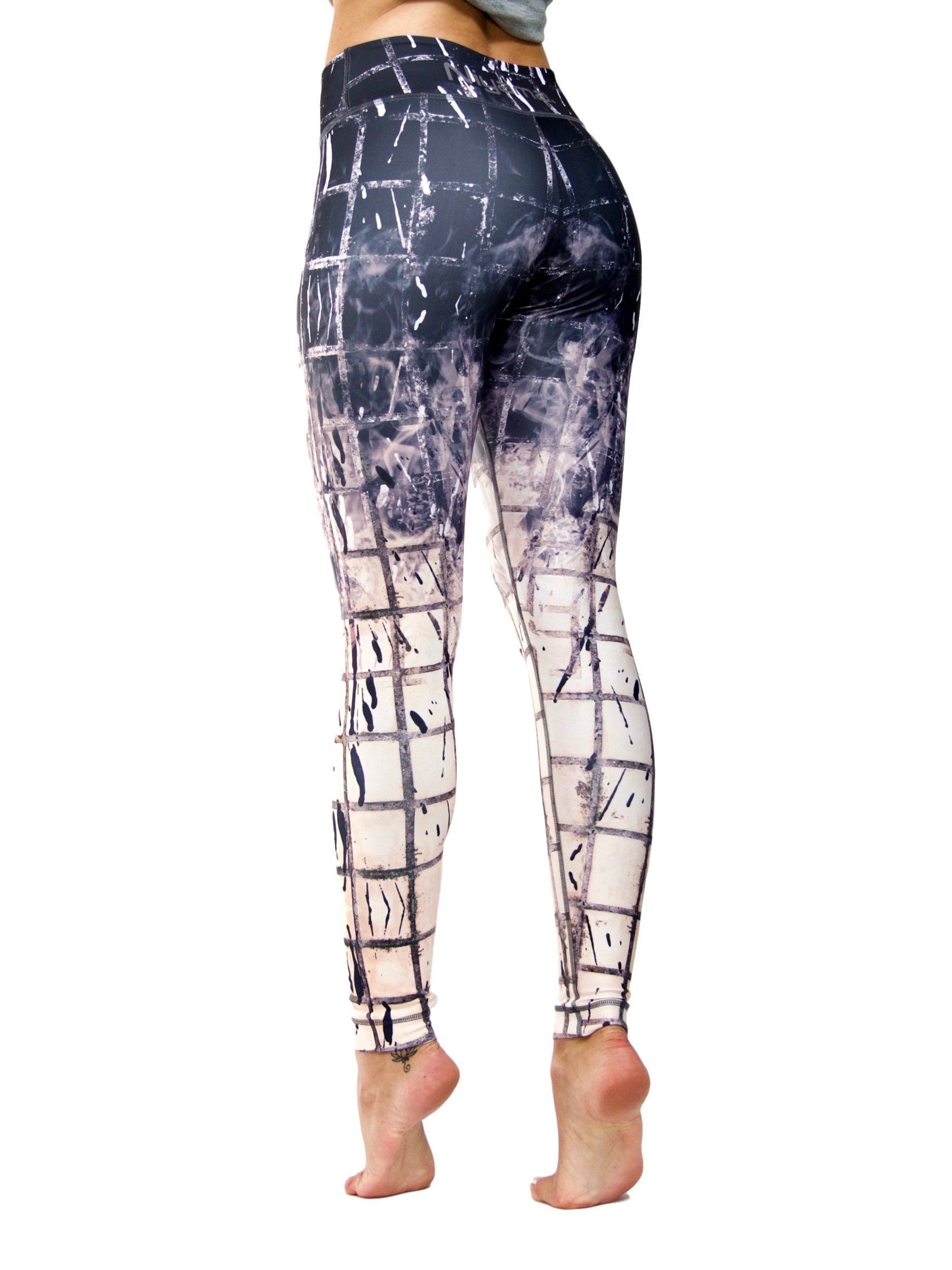 Black And White Yoga Pants lw5qZQJZ