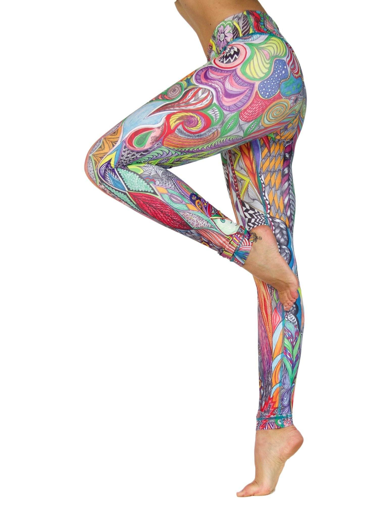 Hakuna Matata by Niyama - High Quality, , Yoga Legging for Movement Artists.