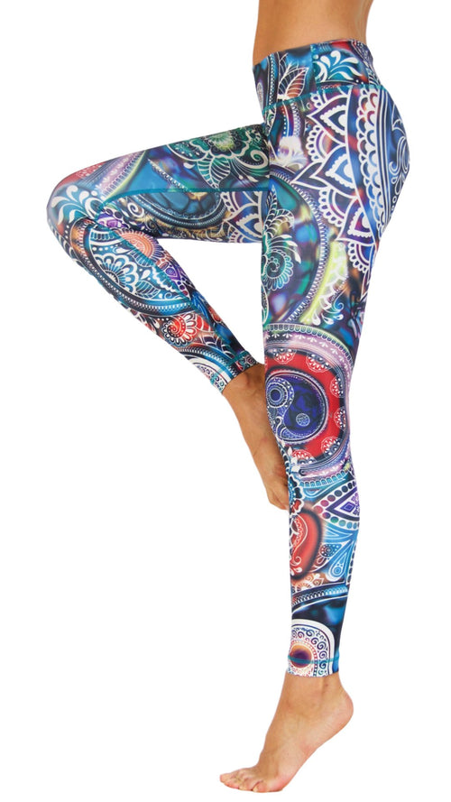 Yin and Yang by Niyama - High Quality, Yoga Legging for Movement Artists.
