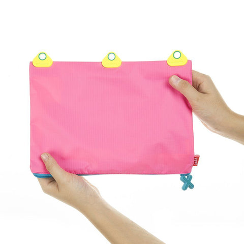 Rivets 3 Ring Pouch