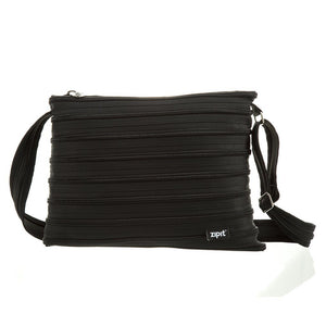 Zipper Large Shoulder Bag Shoulder Bag ZIPIT Black
